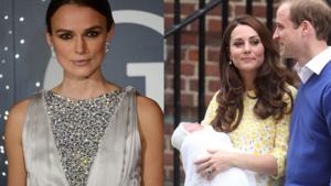 Kate Middleton krijgt veeg uit de pan van Keira Knightley