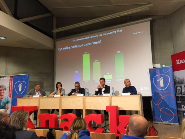 Hasseltse lijsttrekkers in laatste rechte lijn naar verkiezingen tijdens twee debatten