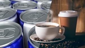 Waarvan blijf je het beste wakker: koffie of een energiedrankje?