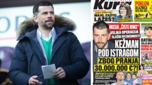 Fraudeschandaal breidt zich uit naar Servië: ex-topspits Kezman in het vizier, mogelijk witwassen van 30 miljoen euro