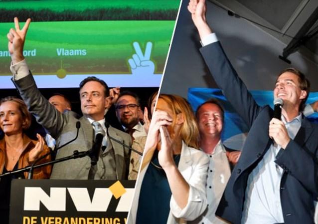 LIVE. Bart De Wever aan zet in Antwerpen, kartel SP.A Groen verliest maar blijft samen in Gent
