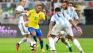 OEFENINTERLANDS. Verdediger redt Brazilië tegen Argentijnen, Japan en Uruguay verzorgen de show