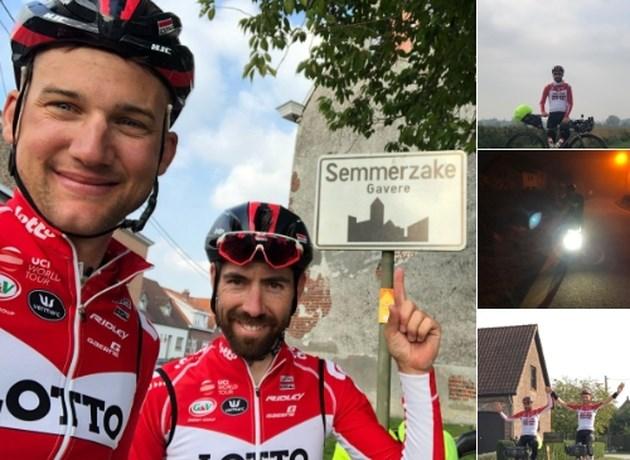De Gendt en Wellens zijn terug thuis na fietstocht die begon na Ronde van Lombardije