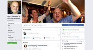 Ruim 5.000 Facebookers willen Guy D'haeseleer als burgemeester van Ninove