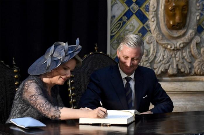 Onze royaltywatcher volgt Filip en Mathilde tijdens hun staatsbezoek in Portugal