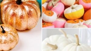Vergeet uitkerven: zes knutseltips voor stijlvolle pompoenen aan je voordeur