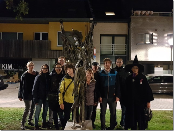 Werknemers van Recticel gingen op stap met de Opperheks in Laarne