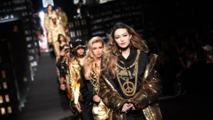 Moschino toont collectie voor H&M op de catwalk in het bijzijn van wereldsterren