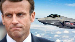 """Franse president Macron ontstemd over Belgische keuze voor F-35: """"Druist in tegen Europese belangen"""""""
