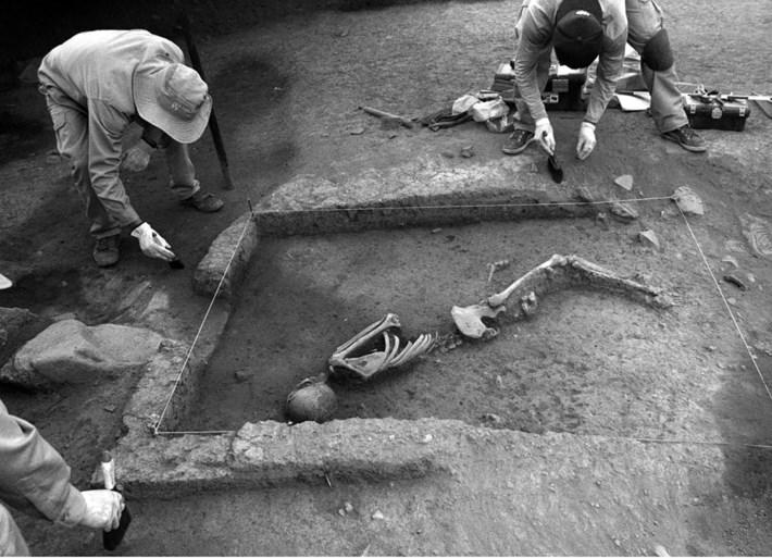 Drieduizend jaar oude skeletten gevonden in Peru