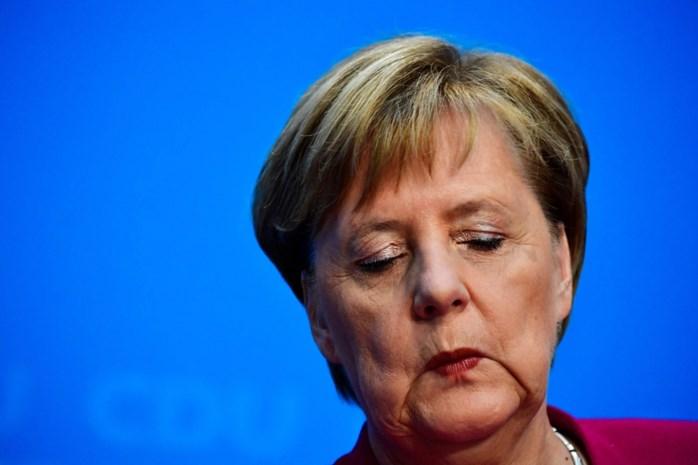 De termijn te veel: Duitse bondskanselier Angela Merkel kondigt politiek afscheid aan