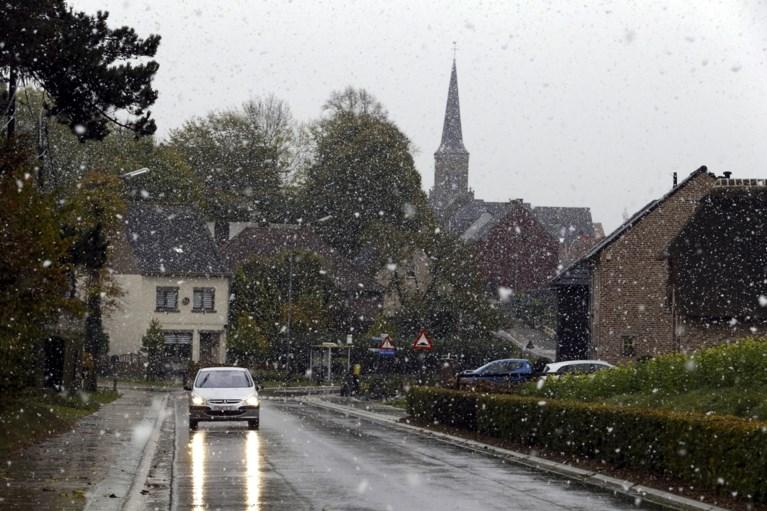 De zomer is alweer vergeten: eerste sneeuwval in België