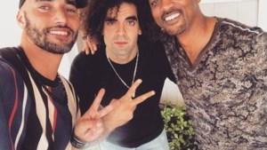 3 bad boys: Adil El Arbi en Bilall Fallah op selfie met Hollywoodster Will Smith