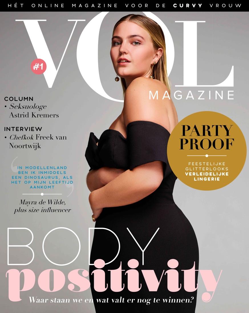 """Wonderlijk De 'Vogue' voor voluptueuze vrouwen: """"Curvy moet niet langer UM-53"""