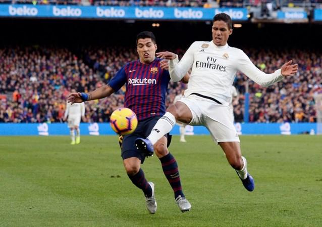 Malaise na Clasico houdt aan: Real Madrid moet Varane tijdje missen met spierblessure