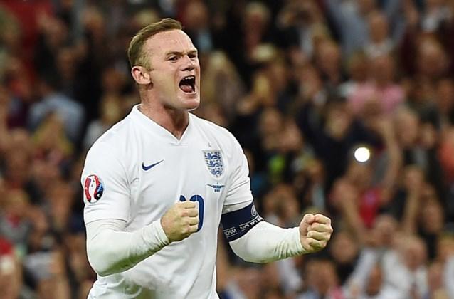 Wayne Rooney draaft nog laatste keer op in shirt van Engelse nationale ploeg