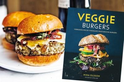 Onze redactrice gaat aan de slag met een kookboek vol veggie burgers en originele toppings