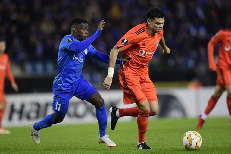 Genk pakt gouden punt tegen sterk Besiktas en blijft op kop in de Europa League