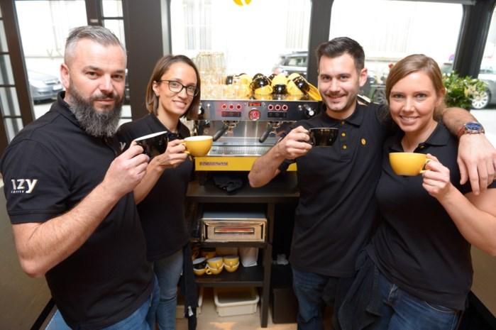 Izy moet eerste Belgische keten van koffiebars worden