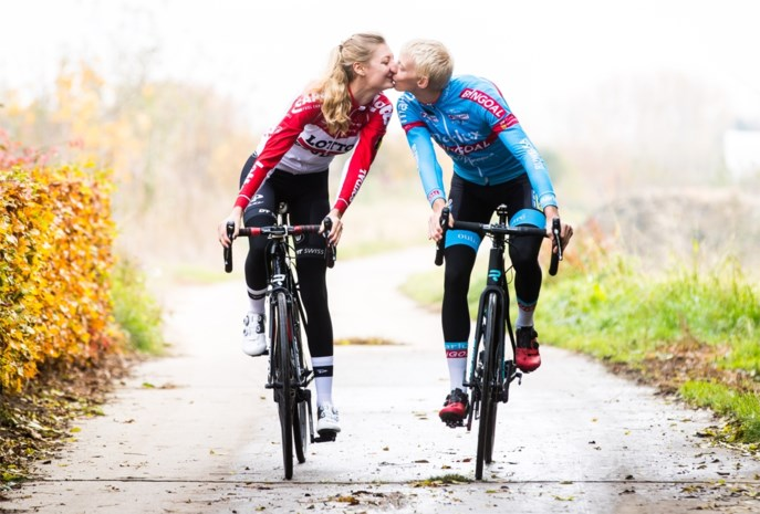 Koppel op de fiets: de liefde tussen modderduivel Michael Vanthourenhout en zonneklopster Kelly Van Den Steen