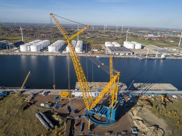 Gigantische kraan van 8.000 ton houdt Sarens bij wereldtop