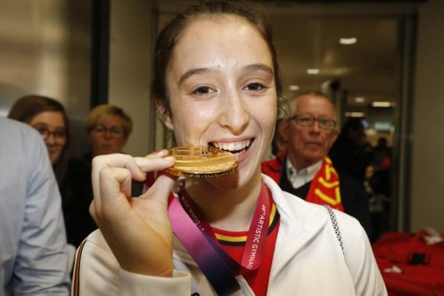Eerste 'prijs' van het jaar voor Nina Derwael: wereldkampioene wint Nationale Trofee voor Sportverdienste