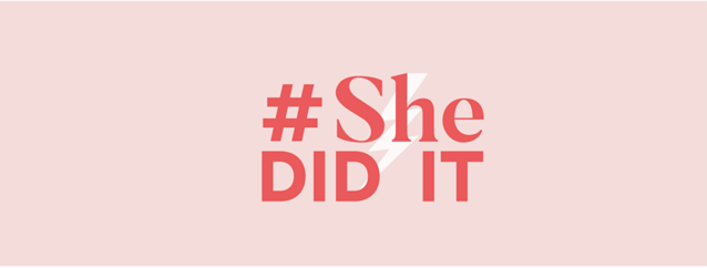 She did what? #SheDidIt