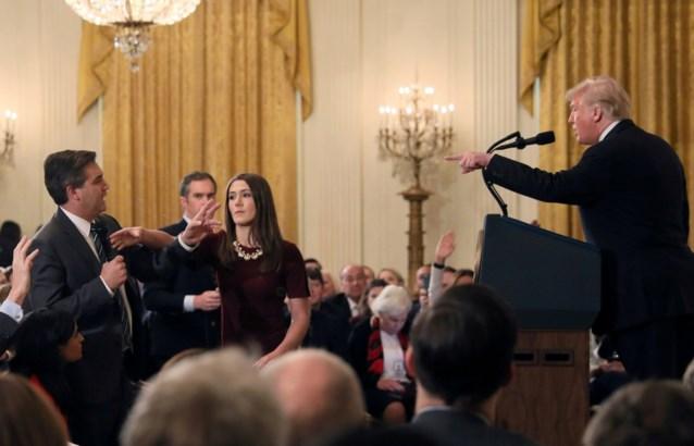 Rechter verplicht Trump om geweigerde CNN-journalist weer toe te laten in Witte Huis