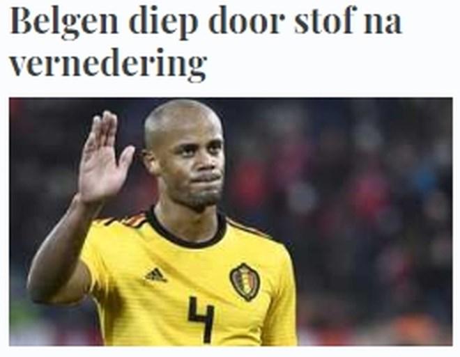 """Zwitserse pers lyrisch na """"historische avond"""" tegen Rode Duivels, ook ongeloof elders in het buitenland"""