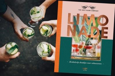 Alcoholvrije feestdagen? Vergeet lauw fruitsap of water: met dit receptenboek brouw je zelf lekkere limonade