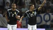 Argentinië wint ook zonder Messi en Agüero van Mexico