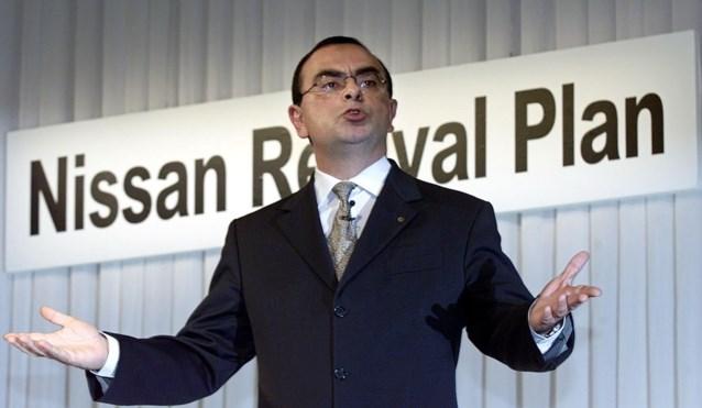 Nissan zet Carlos Ghosn af nadat hij 44 miljoen loon vergaat aan te geven