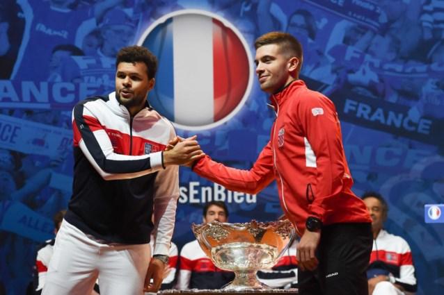 Yannick Noah laat voorlopig beste Franse speler langs de kant voor Davis Cup finale