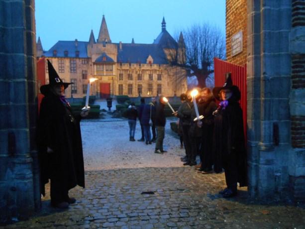 Laarnse Heksengilde verwelkomde agrarische vrijwilligers uit Leuven