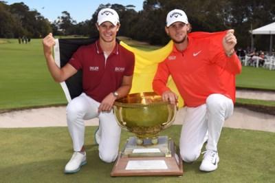 Hoe Amerikaanse periode van 'golfbroers' Thomas Pieters en Thomas Detry leidde naar wereldtitel