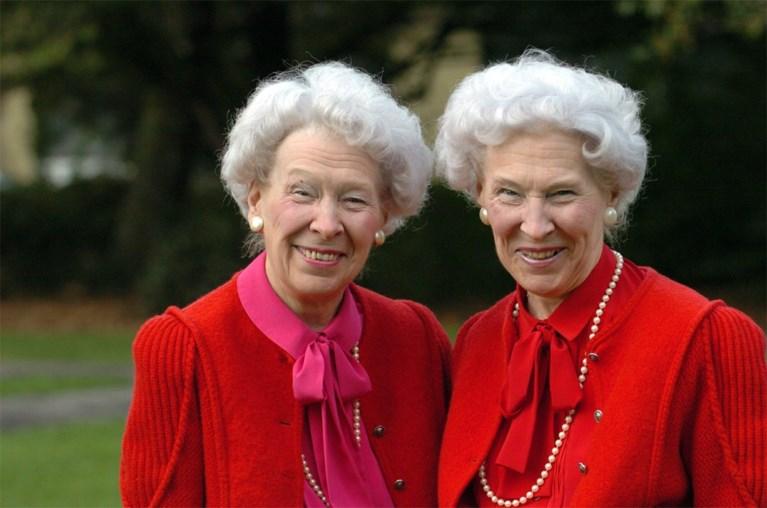 Jeanne Schollaert (95), helft van legendarische tweeling, overleden