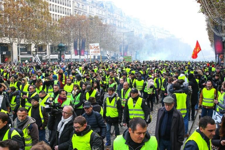 'Gele hesjes' plannen zaterdag nieuwe betoging in Parijs
