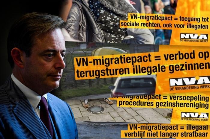 Ze zijn erg omstreden, maar hoeveel waarheid zit er in de zes stellingen in de campagne van N-VA rond het VN-migratiepact?