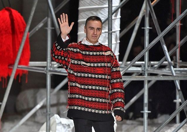 Zijn de dagen van Raf Simons bij Calvin Klein geteld?