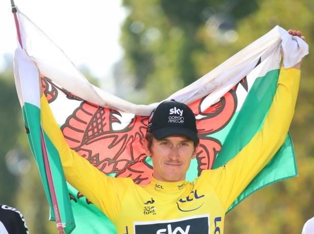 Geraint Thomas past (wellicht) voor Giro