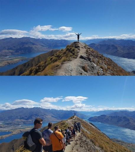 Perfect op Instagram, maar zo ziet deze trekpleister in Nieuw-Zeeland er echt uit