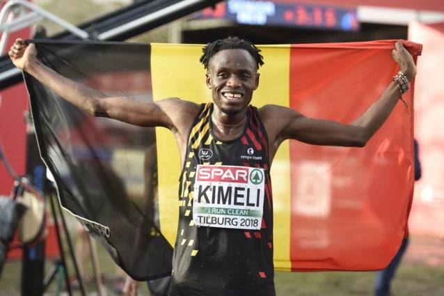 """Kimeli bezorgt België verrassend zilver op EK veldlopen: """"Wat een zottenkot"""""""