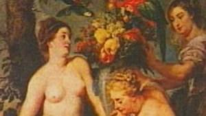 Nederlandse vrouw laat werk Rubens op rug tatoeëren