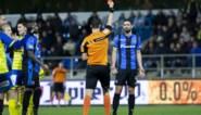 Club aanvaardt sanctie voor Benoît Poulain, die wedstrijd tegen KV Kortrijk mist na rode kaart