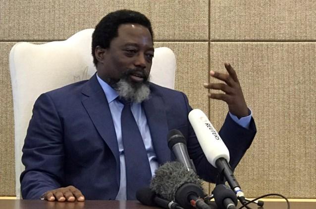 Congolese president Kabila sluit nieuwe kandidatuur niet uit