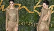 Topmodel Kendall Jenner laat weinig aan de verbeelding over op de rode loper