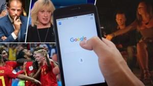 """Van 'Temptation Island' via """"slijm"""" tot Francken: deze onderwerpen waren het populairst op Google in 2018"""