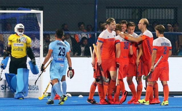 Ook Nederland plaatst zich voor halve finales op WK hockey en treft daarin de titelverdediger