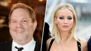 """""""Harvey Weinstein schepte op over seks met Jennifer Lawrence"""""""