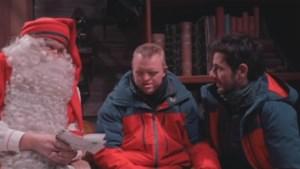 """Dieter Coppens en Kevin ontmoeten de Kerstman en krijgen opvallend cadeau: """"Dat is veel te groot!"""""""